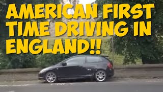 getlinkyoutube.com-American Driving in England for First Time - Driving in the UK