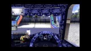 getlinkyoutube.com-Euro Truck Simulator 2  配送風景 【ETS2】