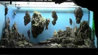 getlinkyoutube.com-Allestimento acquario fantasy - Aquarium Setup - Aquascape: Esercitazioni Jedi STEP 1