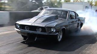 getlinkyoutube.com-'HELLEANOR' TT Chevy Powered MUSTANG!!! 2000+hp