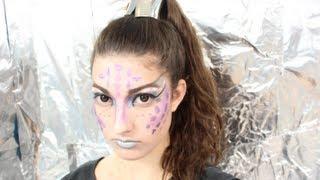 getlinkyoutube.com-Alien Halloween Tutorial!