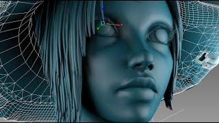 getlinkyoutube.com-3DsMax Face Modeling sorceress (Long version)
