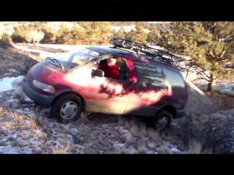 Toyota Previa Alltrac 4x4 offroad fun
