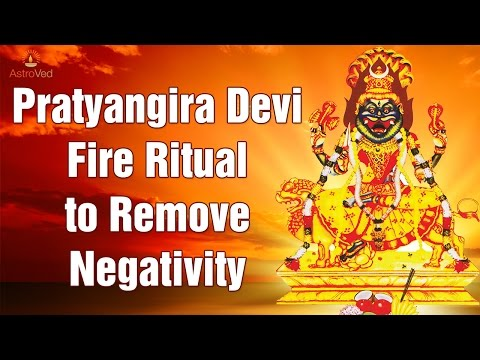 Pratyangira Devi Homam or Pratyangira Homam Part-1