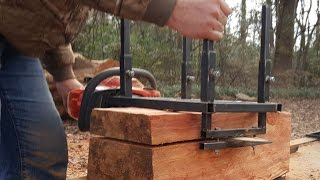 Home Made Alaskan Chainsaw Mill