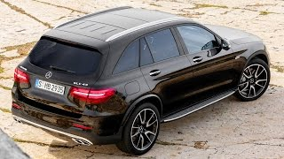 2017 Mercedes-AMG GLC 43 4matic. Design and driving scenes.