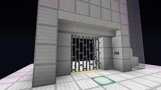 getlinkyoutube.com-Minecraft 1.9対応 3段押し上げ式門扉 ver.2 【bug fix】