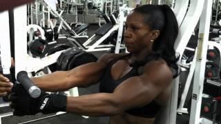 getlinkyoutube.com-Margie hitting Volume on chest day