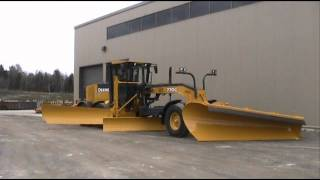 getlinkyoutube.com-Craig Manufacturing - Deere 770G Grader With 301-12 and 1073-10 D.O.T. Spec Wing and Plow