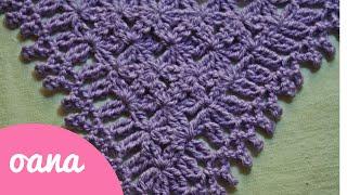 getlinkyoutube.com-crochet triangular prayer shawl