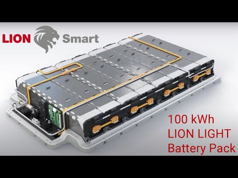 BMW i3 - 100 kWh LION LIGHT Battery Pack (extended version)
