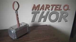 getlinkyoutube.com-DIY-Como fazer o martelo do Thor(Mjolnir)