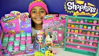 getlinkyoutube.com-NEW Shopkins Shoppies Rainbow Kate Sara Sushi - Gym Fashion Collection - Exclusive Shopkins