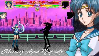 getlinkyoutube.com-【TsukinoAi+】MUGEN Char : Sailor Mercury Special Moves