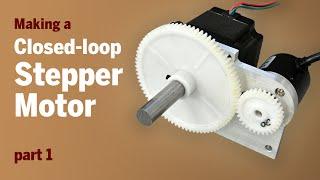 getlinkyoutube.com-Converting a Stepper Motor to a Closed-loop Stepper Motor - Part 1