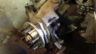 getlinkyoutube.com-How To Repair Damaged Threads (steering knuckle caliper holes 97 dakota)