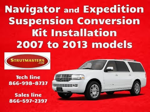 Ford Expedition Air Suspension Conversion Kit Install - 07