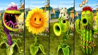 getlinkyoutube.com-Plants vs Zombies Garden Warfare - All Plants Unlocked / All Characters