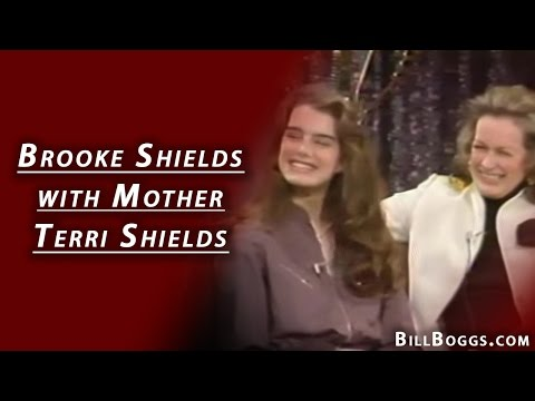 Brooke & Terri Shields Rare Interview At Xenon With Bill