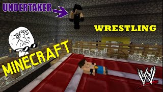 getlinkyoutube.com-Minecraft: WWE The Undertaker vs John Cena - Wrestling w Minecrafcie
