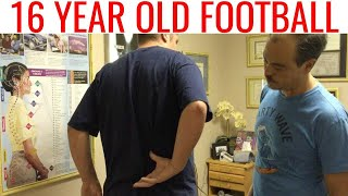 getlinkyoutube.com-2 years of Low Back Pain in Football gone in one NECK adjustment
