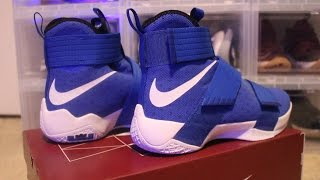 "getlinkyoutube.com-Lebron 10 soldier""Royal blue"""