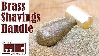 Brass Shavings to Brass Hammer Handle (Resin Casting)