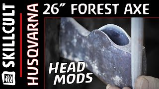 "Husqvarna 26"" Forest Axe #3:  Handle Removal and Some Modification"