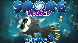 getlinkyoutube.com-SPORE: Modded - CELL STAGE | Episode 1