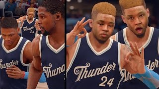 getlinkyoutube.com-NBA LIVE 16 Rising Star - 1st ANKLE BREAKER!! Christmas Day Game!!