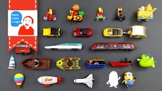 getlinkyoutube.com-Learning Street Vehicles Names and Sounds and more for kids with tomica
