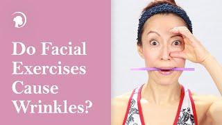 getlinkyoutube.com-Do Facial Exercises Cause Wrinkles?