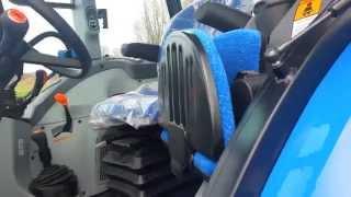 getlinkyoutube.com-New Holland 2014 T4.95 Cab Tractor