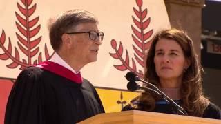 getlinkyoutube.com-Bill and Melinda Gates' 2014 Stanford Commencement Address