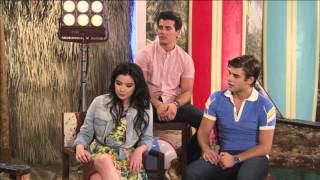 getlinkyoutube.com-Teen Beach Movie - Live Chat - The Whole Cast - Part 4