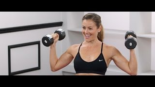 getlinkyoutube.com-The Best Moves For Tank Top Arms | Class FitSugar