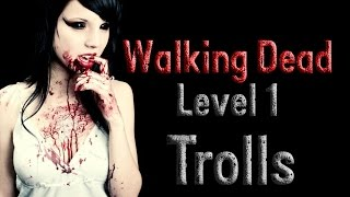 getlinkyoutube.com-Walking Dead Road to Survival - Level 1 Glitch or Trolls?