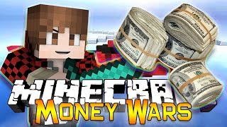 getlinkyoutube.com-Minecraft: MONEY WARS GAME #4 - TEAMS OF 2! Get to the Chopper! (Epic Mini-Game)
