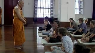getlinkyoutube.com-Insight Meditation Practice at Wat Mahadhatu, by Venerable Monk Phre Suputh Kosalo