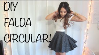 getlinkyoutube.com-DIY - FALDA CIRCULAR!