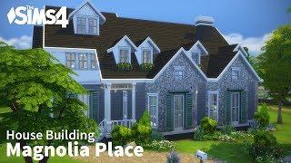 getlinkyoutube.com-The Sims 4 House Building - Magnolia Place