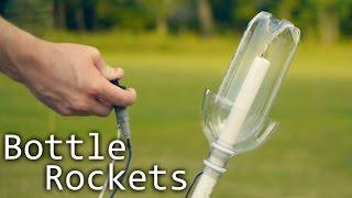 getlinkyoutube.com-How To Make Alcohol Rockets From Soda Bottles