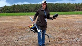 getlinkyoutube.com-TSA-700-E RC HELICOPTER 3D AEROBATICS / Tatjana Zastrow / Meeting Damelang June 2015 *1080p50fpsHD*