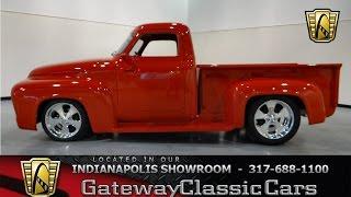 getlinkyoutube.com-1955 Ford F-100 -Gateway Classic Cars - Indianapolis - #275-ndy