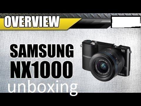 فتح صندوق كامره Samsung NX1000 DSLR