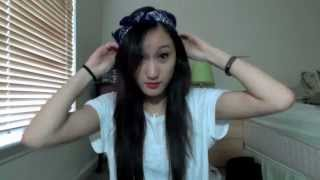 getlinkyoutube.com-Bandana Headband!
