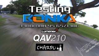 getlinkyoutube.com-QAV210 • Testing Bonka 1300MAH 4S 65/130C [HD]