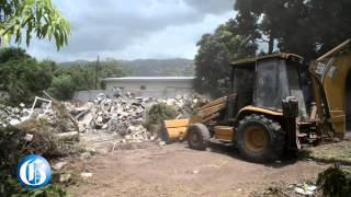 Vybz Kartel Home in Havendale Destroyed