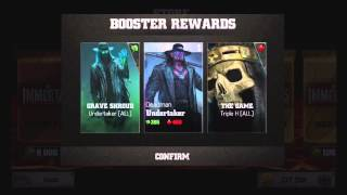 getlinkyoutube.com-WWE Immortals Pack Openings, 2 Silver Packs and 1 Gold Pack