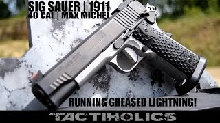 getlinkyoutube.com-Max Michel | Sig Sauer 1911 | Shooting Greased Lightning - Tactiholics™